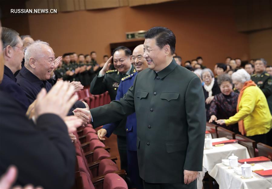 Си Цзиньпин поздравил ветеранов военной службы с наступающим праздником Весны