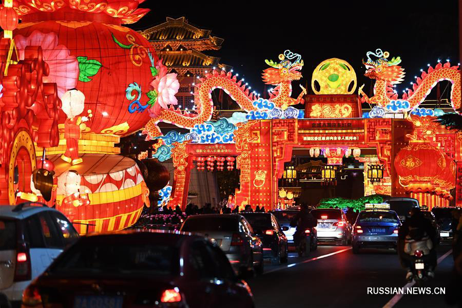 Ланьчжоу готовится к выставке фонарей