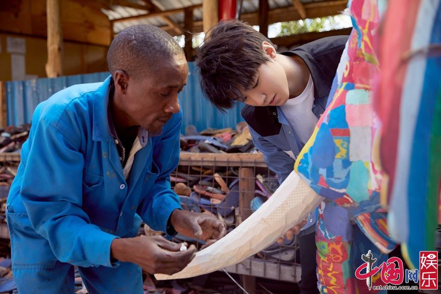 Благотворительная поездка Ван Цзюнькая в Африку