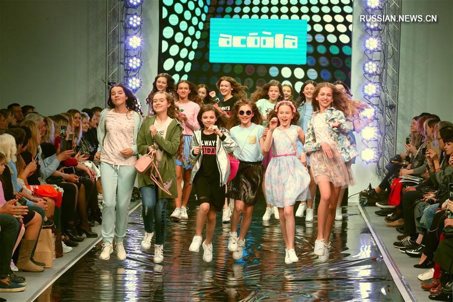 День детской моды на Белорусской неделе моды в Минске