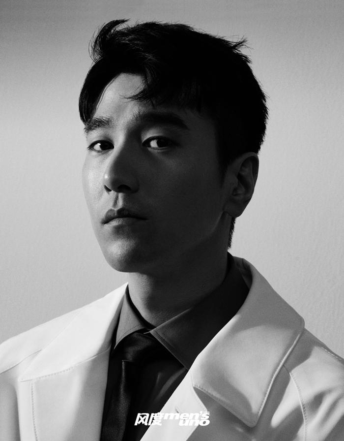 Тайваньский актер Чжао Ютин попал на модный журнал