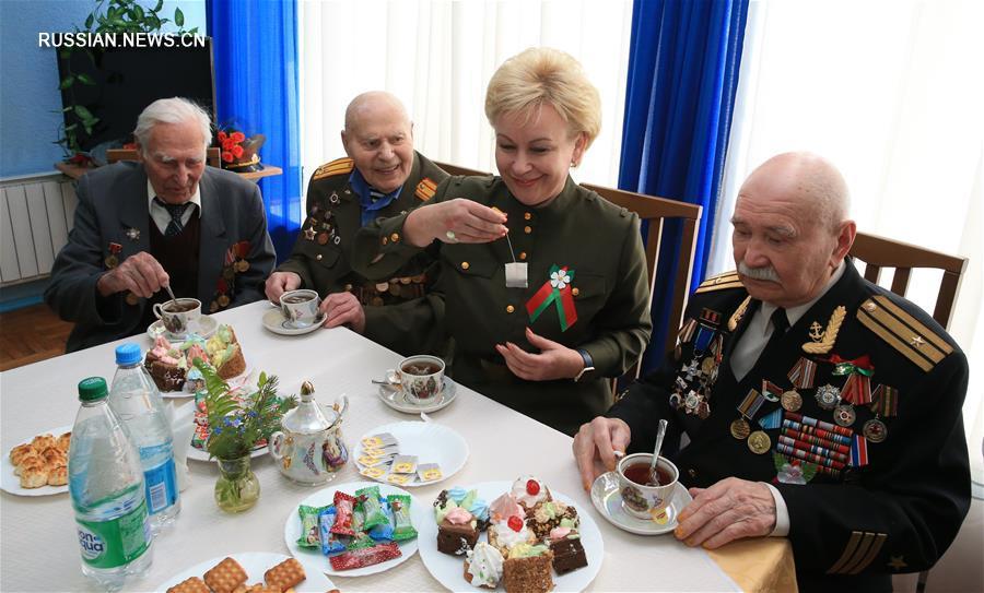 Накануне Дня Победы в Беларуси чествуют ветеранов Великой Отечественной войны