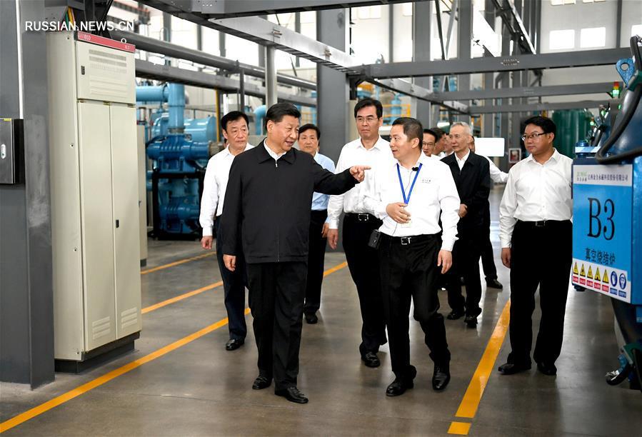 Си Цзиньпин находится с инспекцией в провинции Цзянси