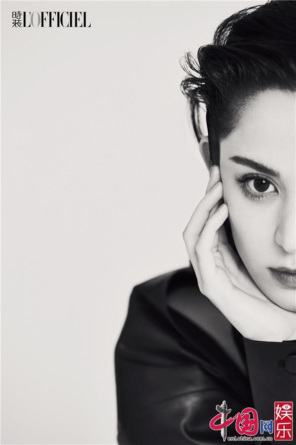 Гу Ли На Чжа снялась для обложки журнала