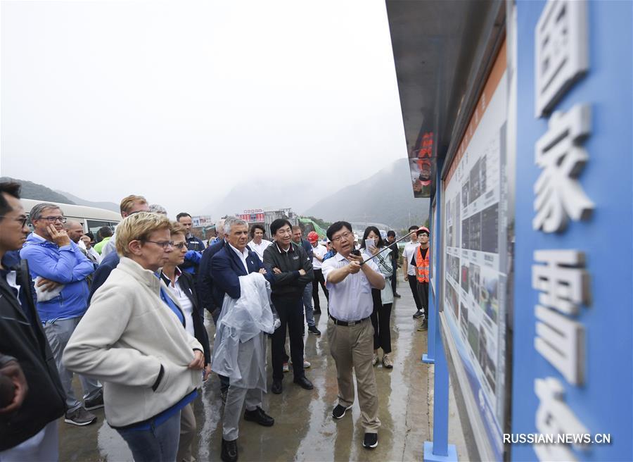 Координационная комиссия зимних Олимпийских игр-2022 в Пекине совершила инспекцию олимпийских объектов