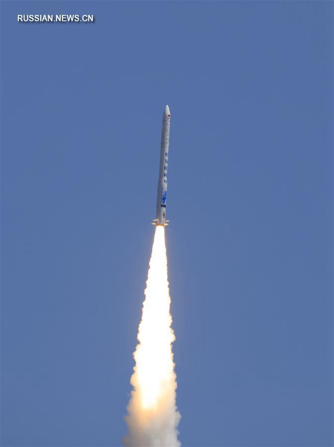 В Китае успешно запущена частная коммерческая ракета-носитель