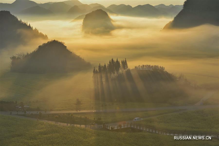 Зеленый Китай -- Юньнань, земля вечной весны