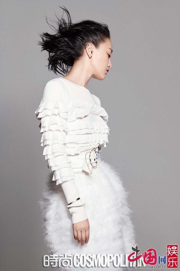 Фото: стильная актриса Чжоу Сюнь