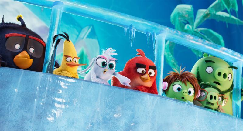 """Кадры из мультфильма """"Angry Birds 2"""""""