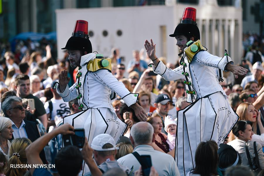 Москвичи отпраздновали День города