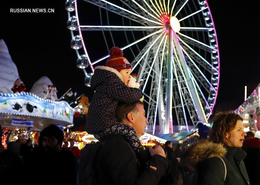 Рождественская ярмарка в Лондоне