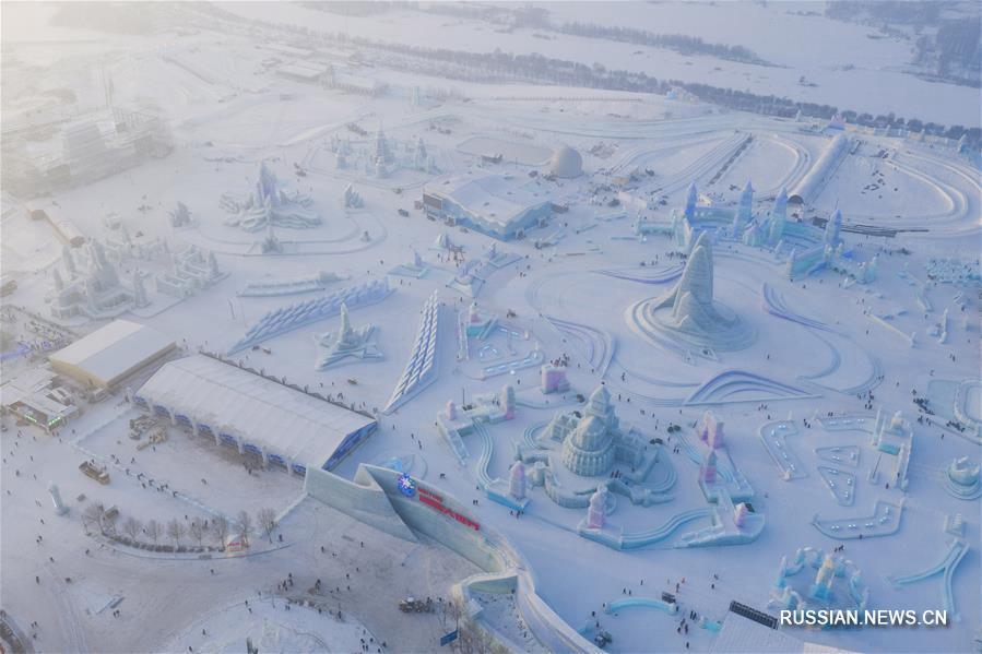 Ледяной наряд Харбина