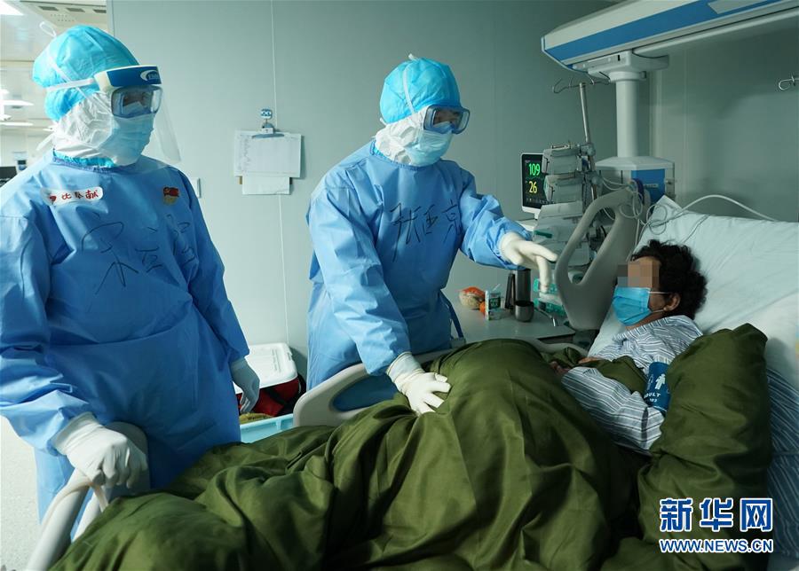 Схватка со смертью: посещение отделения интенсивной терапии больницы «Хошэньшань» в Ухане
