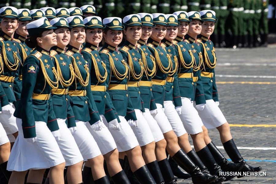 В Москве прошел парад в честь 75-летия Победы в Великой Отечественной войне