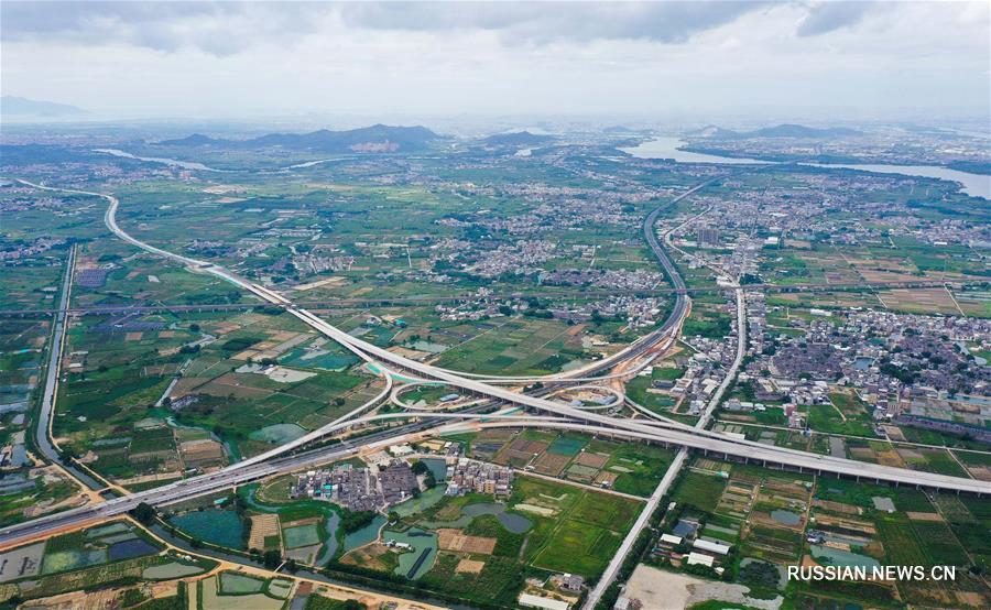 Кольцевая автомагистраль Чаочжоу -- Шаньтоу откроется к концу года