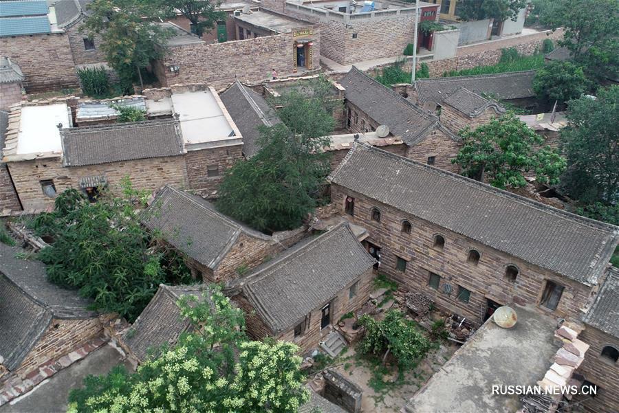 Новая жизнь старинной деревни в горах Тайханшань