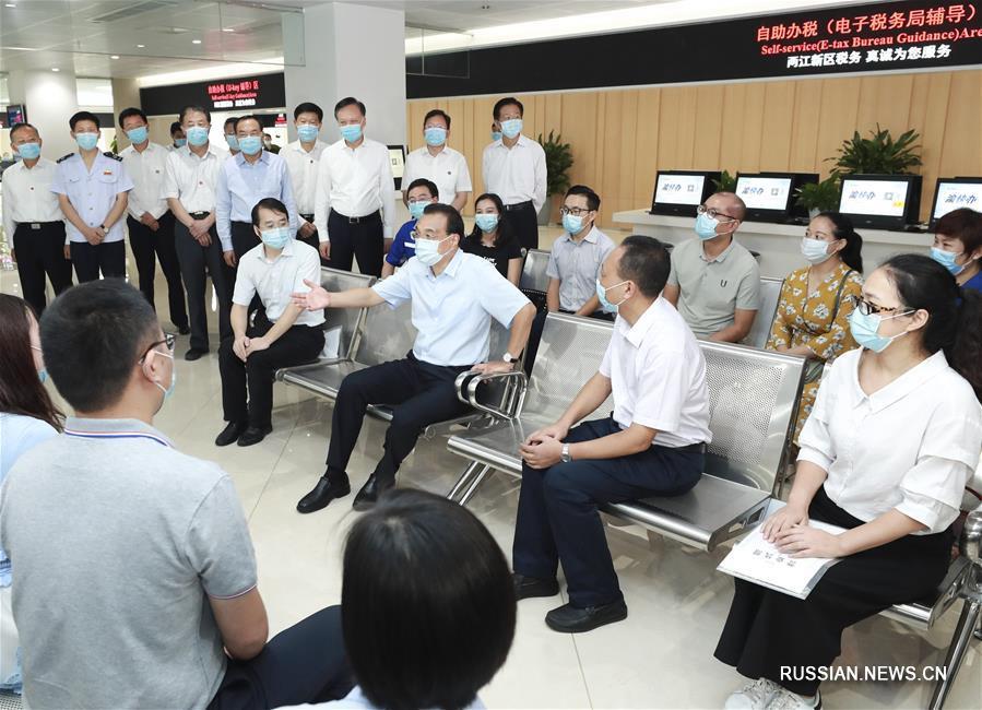 Ли Кэцян посетил с инспекцией Чунцин