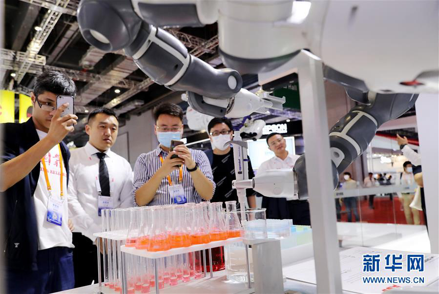 В Шанхае открылась международная промышленная выставка