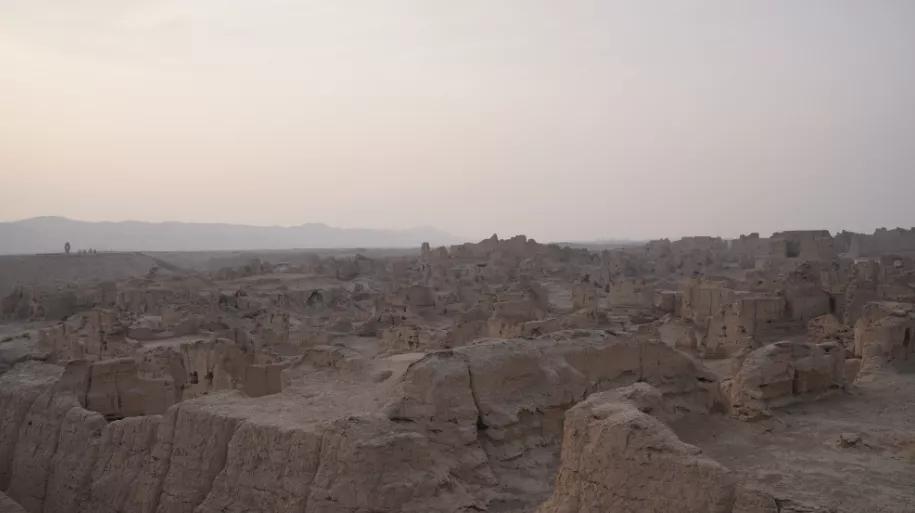 Исследуя «восточные Помпеи»