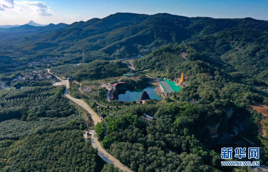 Заброшенные шахты превратились в известный туристический район