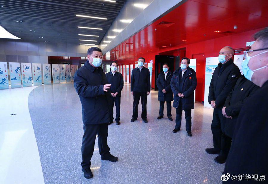 Си Цзиньпин проинспектировал подготовительную работу к зимней Олимпиаде-2022 и Паралимпиаде-2022 в Пекине