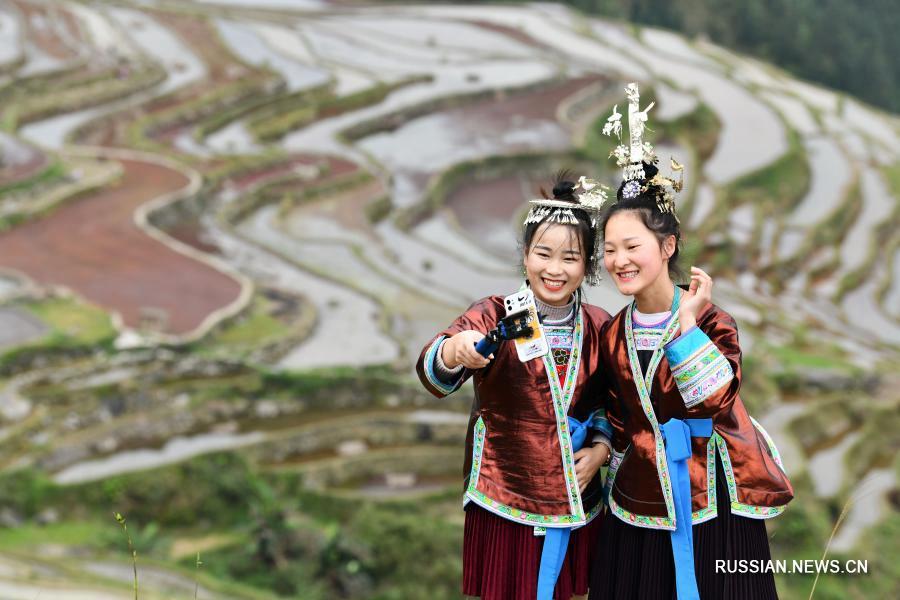 Радость на лицах жителей бедных уездов провинции Гуйчжоу