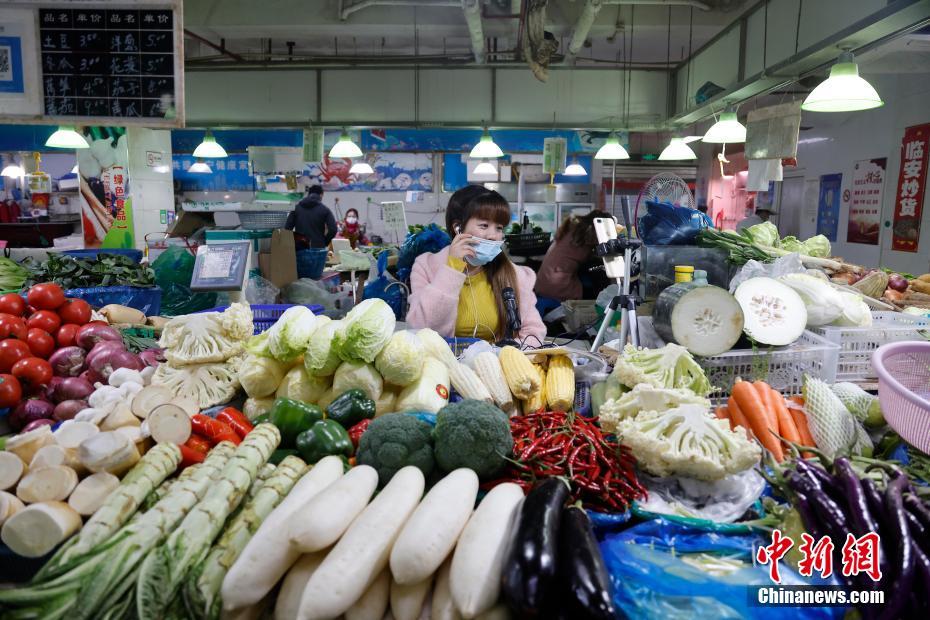 95% овощных рынков в Шанхае продолжат работу во время Праздника Весны