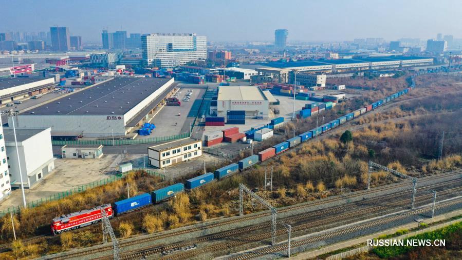 Первый поезд Китай-Европа отправился из Чэнду в Санкт-Петербург