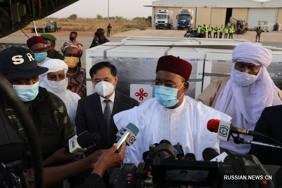Пожертвованная Китаем партия вакцины от COVID-19 доставлена в столицу Нигера
