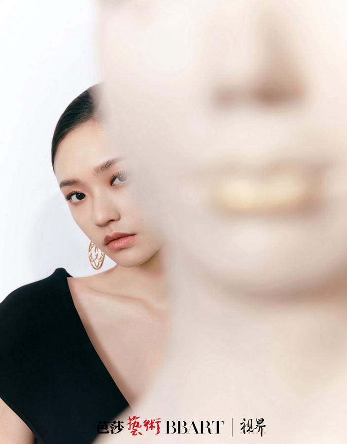 Модные фотографии актрисы Линь Юнь