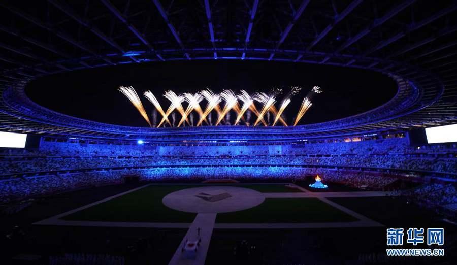 Закрылись Олимпийские игры в Токио