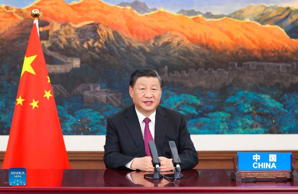 Си Цзиньпин выступил с речью по видеосвязи на пленарном заседании 6-го Восточного экономического форума