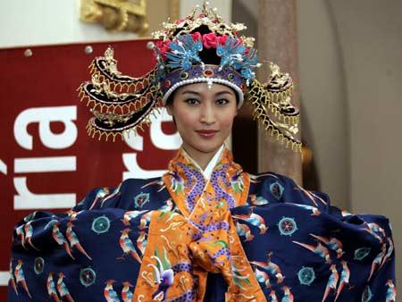 TRAJE TIPICO de china - Imagui
