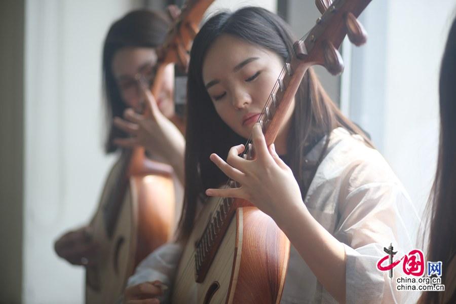 El futuro de la música folklórica china radica en los ni?os