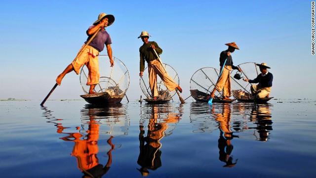 6. Río Irrawaddy, Birmania