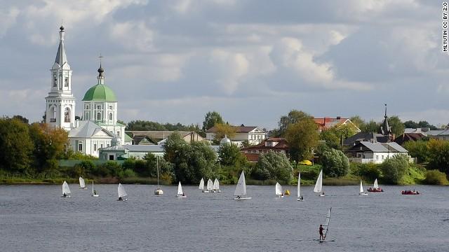 15. Río Volga, Rusia