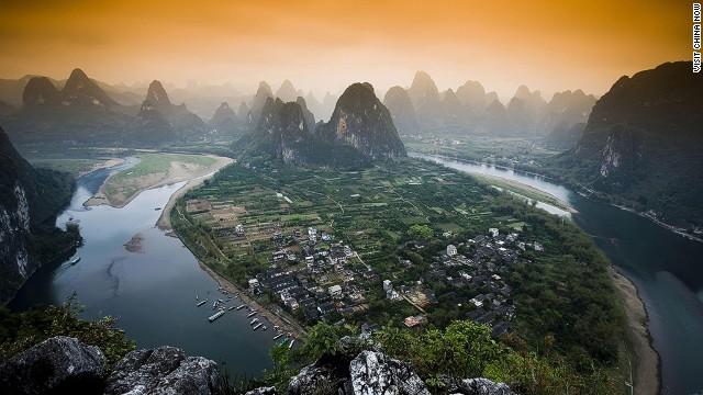 14. Río Li, China
