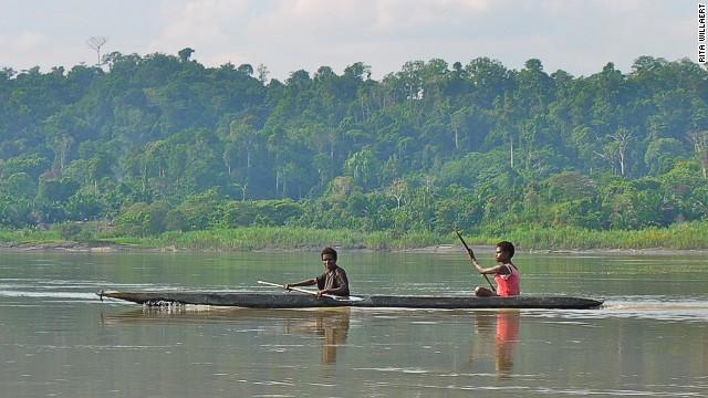 4. Río Sepik, pasa por Papua Nueva Guinea e Indonesia