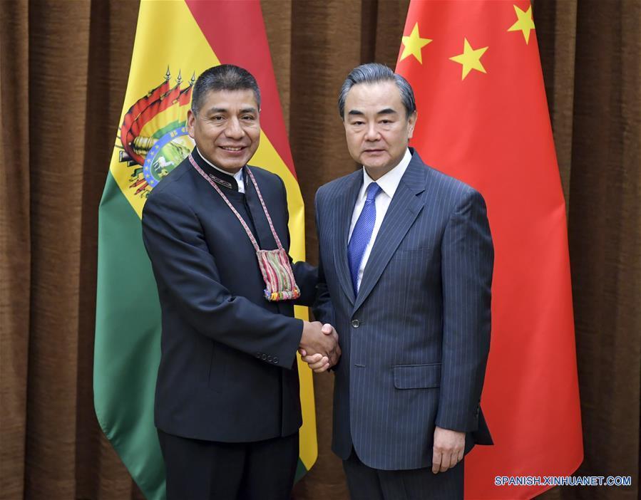 Huanacuni ultima detalles para visita de Evo a China