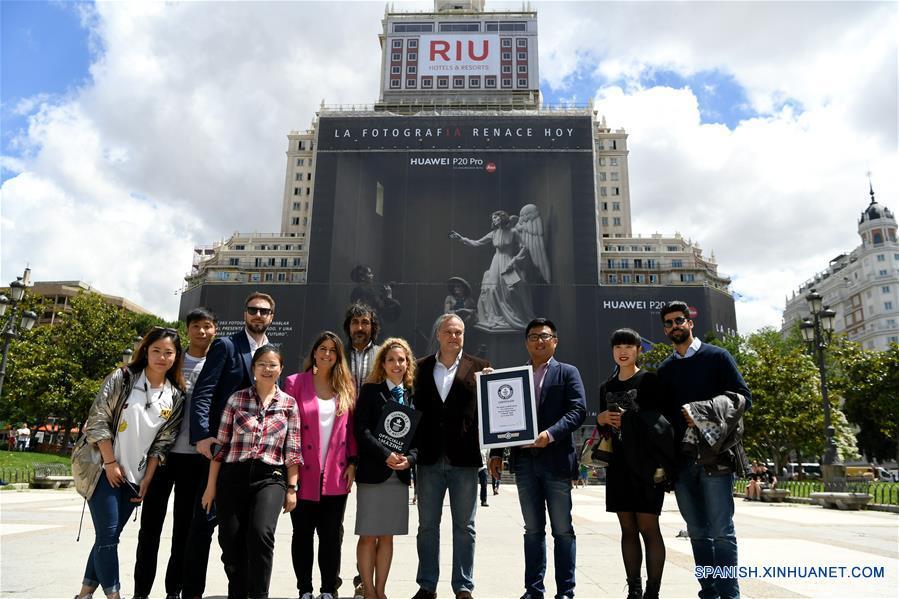 ESPAÑA-MADRID-CHINA-RECORD GUINNESS-HUAWEI