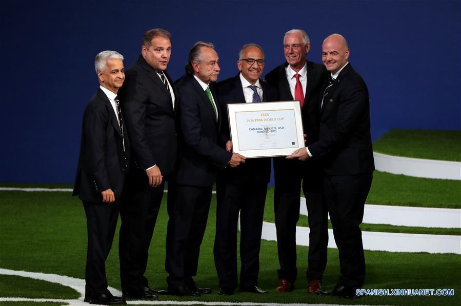 RUSIA-MOSCU-CONGRESO DE LA FIFA