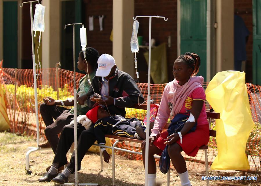 ZIMBABUE-HARARE-COLERA