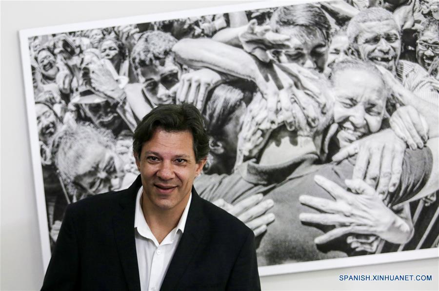 BRASIL-SAO PAULO-ELECCIONES-HADDAD
