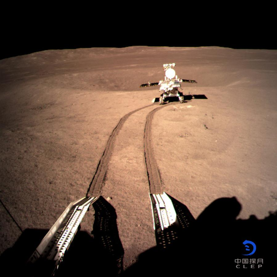 CHINA-BEIJING-SONDA LUNAR CHANG E-YUTU 2