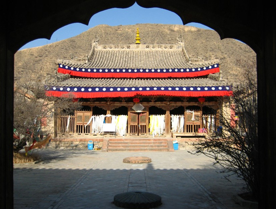 Qutan Temple, one of the 'top 10 attractions in Qinghai, China' by China.org.cn.