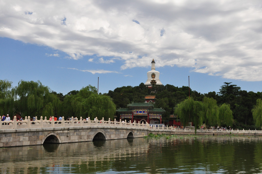 Located to the west of the Forbidden City and Jingshan Park, Beihai (literally the Northern Sea) Park is one of the oldest, largest and best-preserved ancient imperial gardens in China.