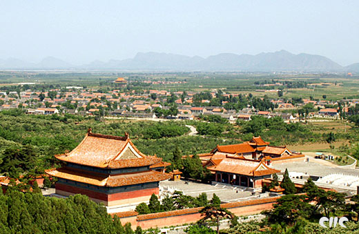 Qing Dynasty East Mausoleum, one of the 'Top 10 attractions in Hebei, China' by China.org.cn