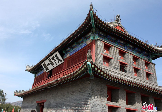Shanhai Pass, one of the 'Top 10 attractions in Hebei, China' by China.org.cn