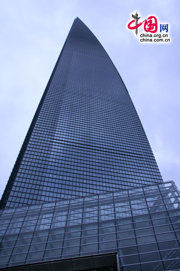 Shanghai World Financial Center in Shanghai, one of the 'Top 10 landmarks in China' by China.org.cn
