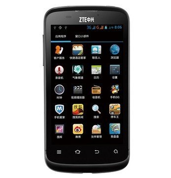 ZTE, one of the 'top 7 most popular smartphones in China' by China.org.cn.